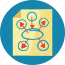 business plan, marketing plan, seo planning icon