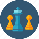 chess, marketing strategy, planning icon