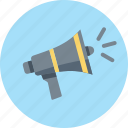 advertising, marketing, megaphone icon