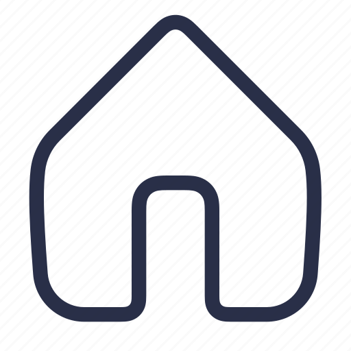 address, building, home, homepage, house, location icon