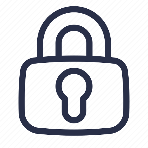 encrypted, key, lock, login, password, protection, security icon