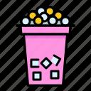 beverage, bubble, cup, drink, tapioca, tapioca balls, tea icon