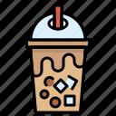beverage, bubble, cup, drink, tapioca balls, tea icon