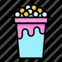beverage, bubble, cup, drink, milk, tapioca balls, tea icon