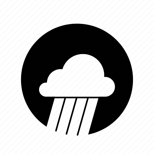 app, cloud, forecast, phone, rain, sunny, weather icon