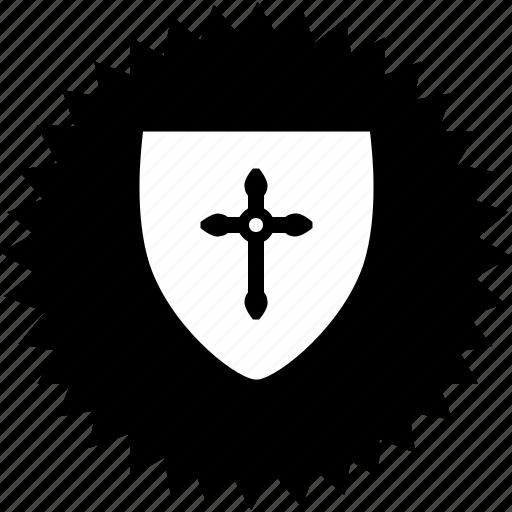 christendom, christian, christianity, cross, crusade icon
