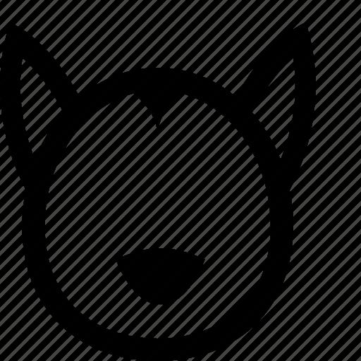 animal, dog, husky icon