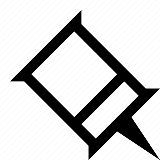 document, pin icon
