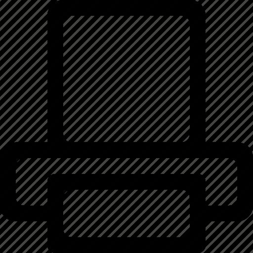document, printer icon