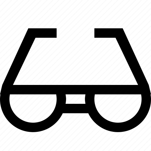 document, eye, glass, read icon