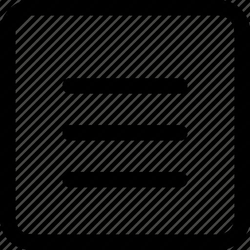 binder, document, three, tier icon