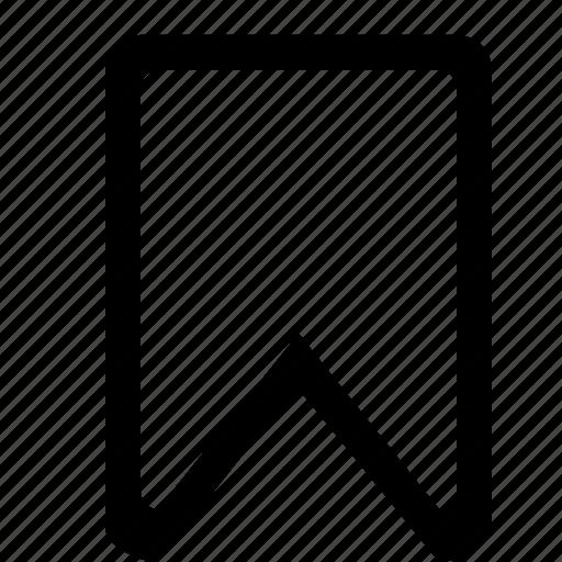 bookmark, document, important icon