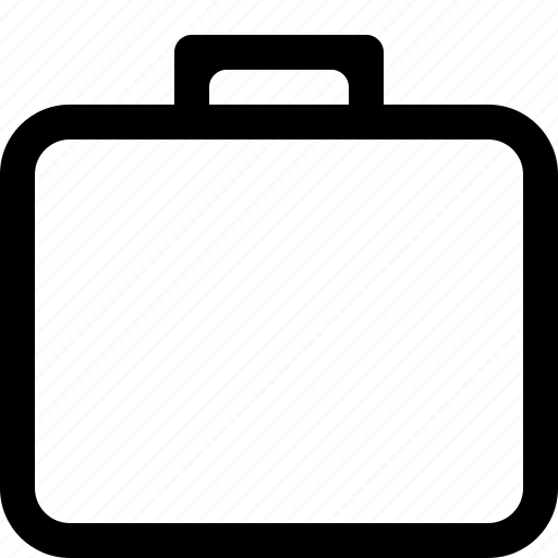 bag, briefcase, case, document icon