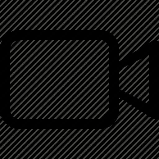 media, video icon