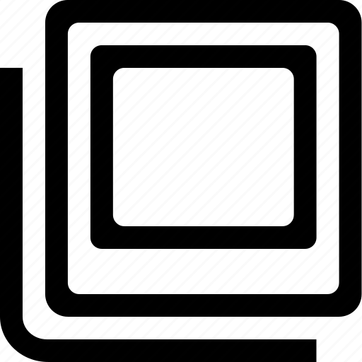 document, photo, polaroid, stack icon