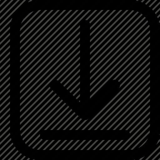 download, ecommerce, item icon