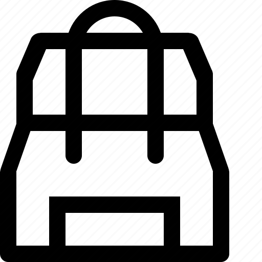 backpack, goods icon