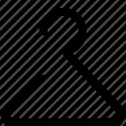 ecommerce, hanger icon