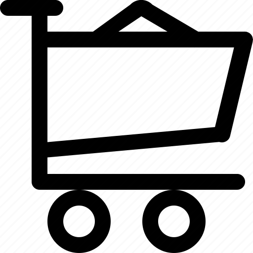 cart, ecommerce, fill, shop, trolley icon