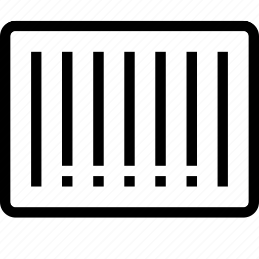 barcode, code, qr icon