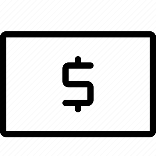 dollar, paper, payment, revenue icon