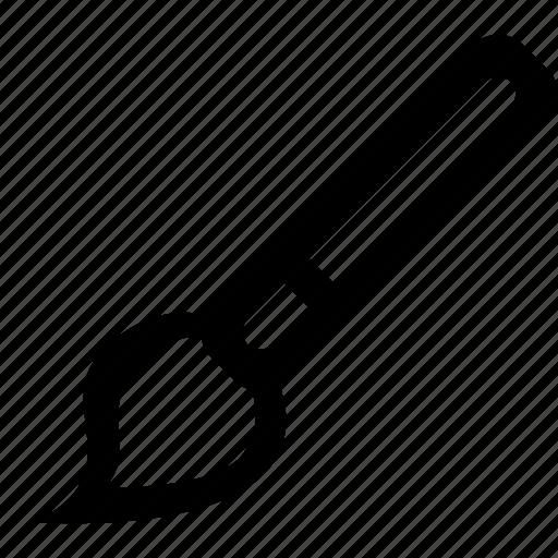 brush, editorial icon