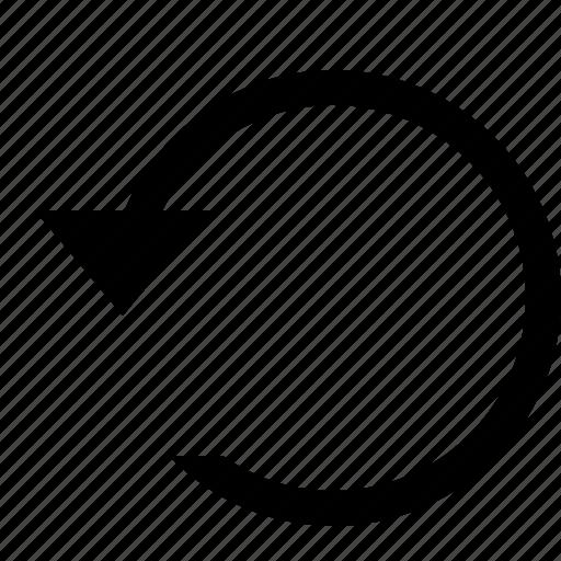 editorial, undo icon