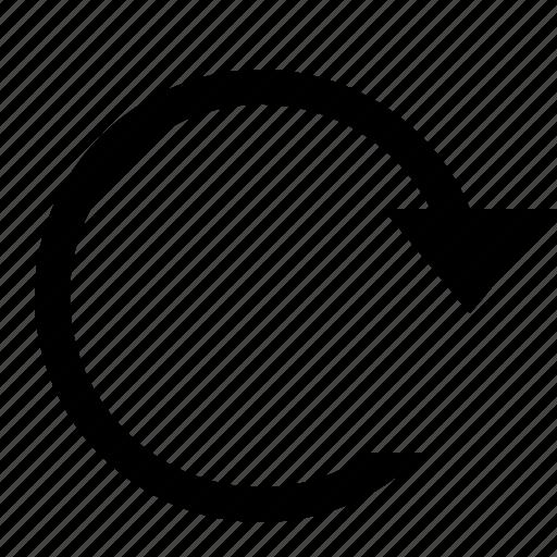 editorial, redo icon