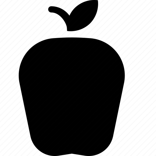 apple, food, fruit, snack icon