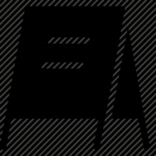 board, door, menu, restaurant menu icon