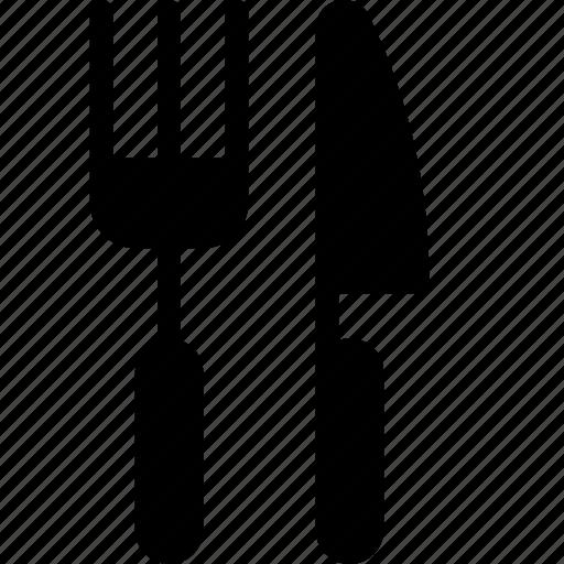 fork, knife, utensil icon