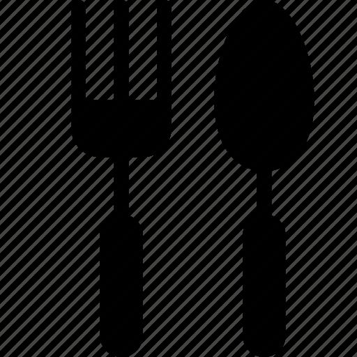 fork, spoon, utensil icon