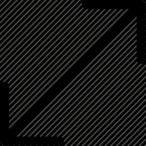 Arrows, enlarge icon - Download on Iconfinder on Iconfinder