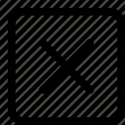 cancel, cross, interface icon