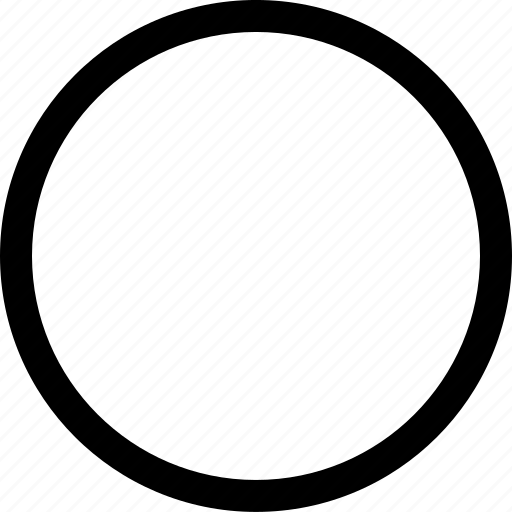 circle, interface, right, true icon