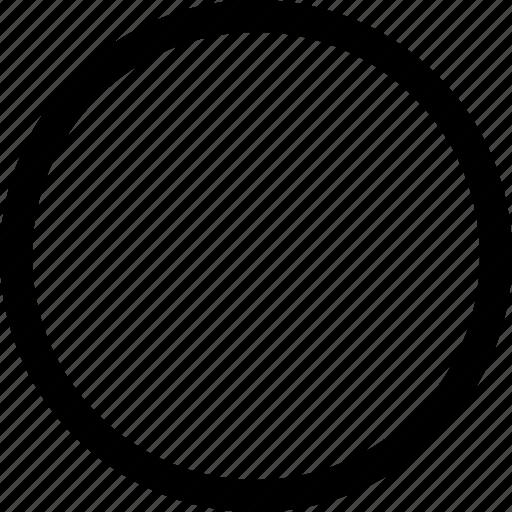 circle, interface, right, true icon