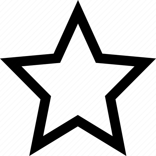 favorite, interface, star icon