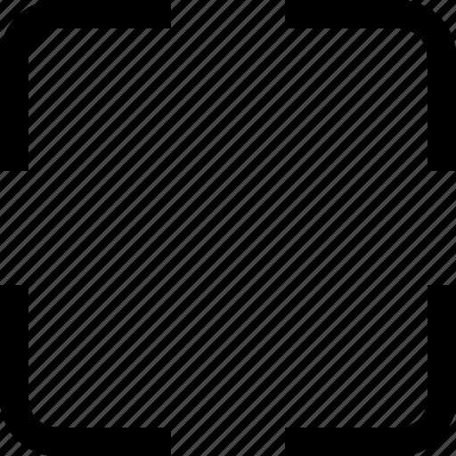 fullscreen, interface icon