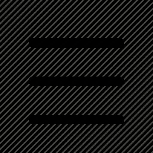 hamburger, interface, sidebar icon
