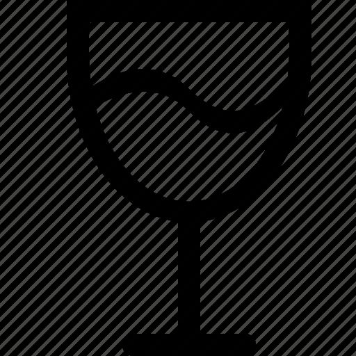 beverage, glass icon