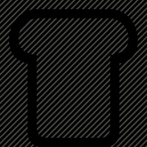bread, food, white icon