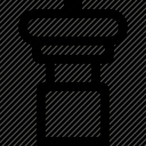 kitchen, pepper, salt icon