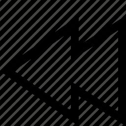 interface, music, previous icon