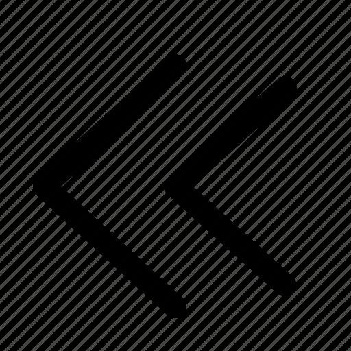 button, interface, music, previous icon