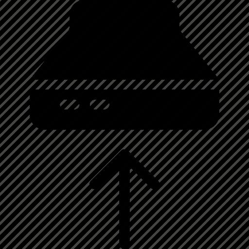 Exhaust, fan, smoke, kitchen icon
