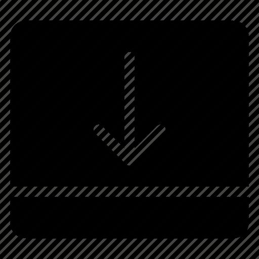 bottom, collapse, layout, ui icon