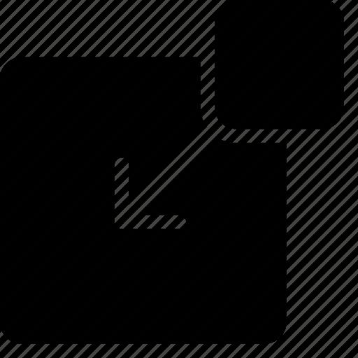 element, inside, layout, ui icon
