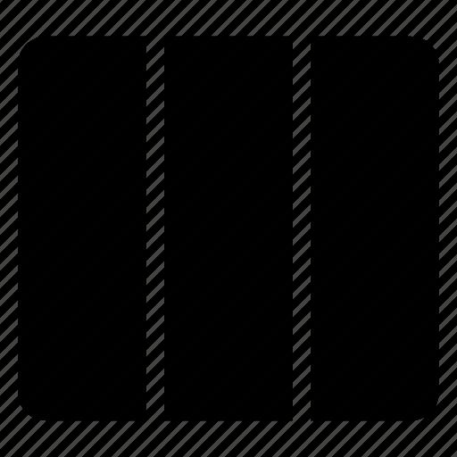 layout, third, ui, view icon