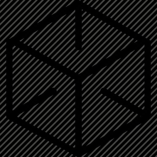 box, logic, research icon