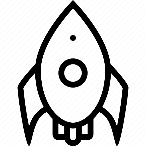alien, outspace, rocket, rocketship icon